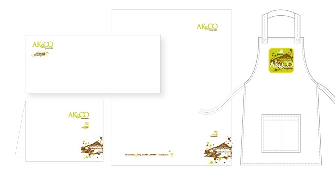 AK&CO | Visual Identity