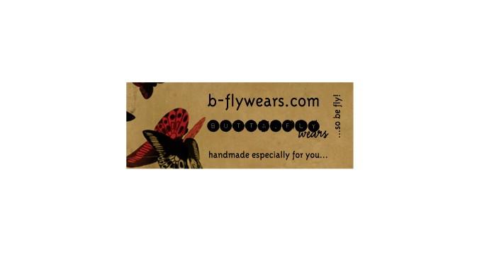 Adam Red | Butta.Fly Wears Sticker