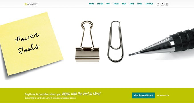 Flip Productivity™ | Website Home Slider