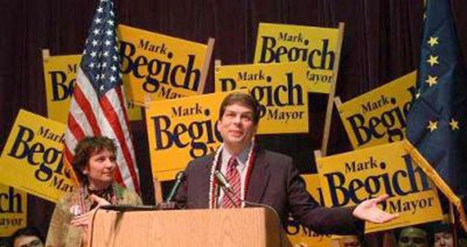 Adam Red | Mark Begich for Mayor Logo