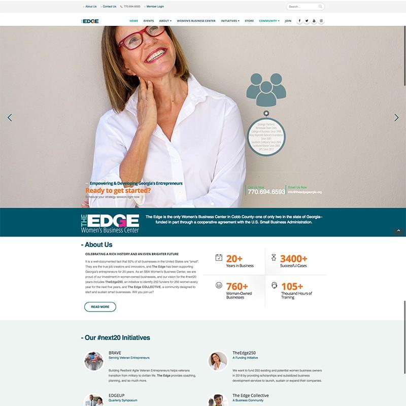 Adam Red | The Edge Website
