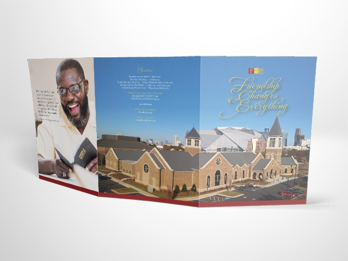 Adam Red | Friendship Baptist Church Welcome Packet